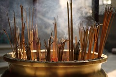 Best wishes (bOw_phOto) Tags: guangzhou china lumix buddha smoke panasonic 20mm gf1 20mmf17 16banyantreetemple
