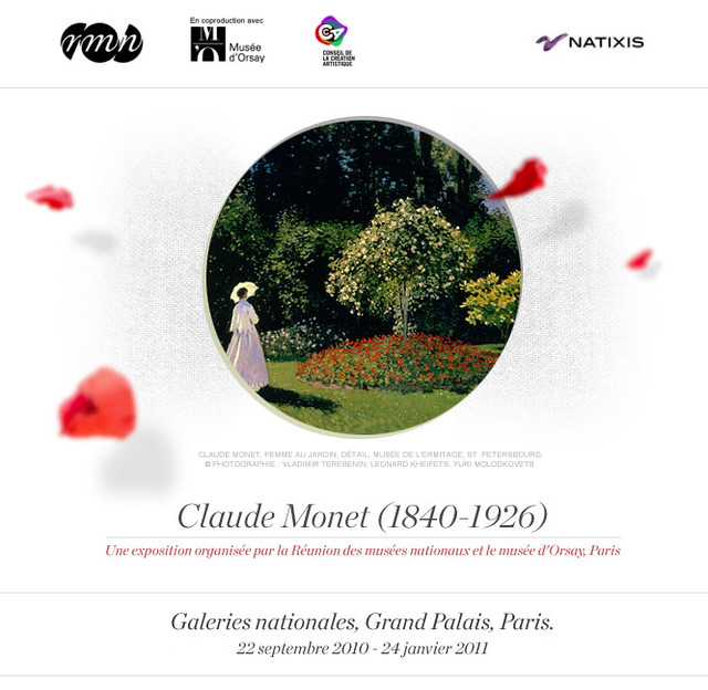 Claude Monet no Grand Palais