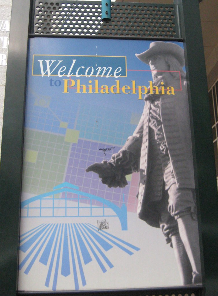 Welcome to Philadelphia - August 2010