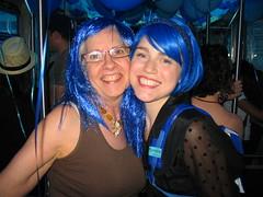 Blue hairs!