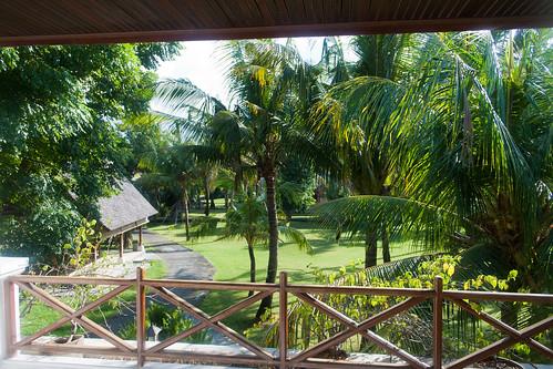 Vista de mi habitación en Kuta, Bali, Indonesia