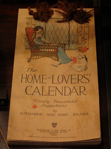 The Home-Lovers' Calendar