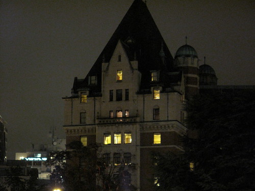 The Empress Hotel's West Tower