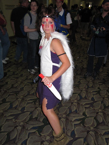 san princess mononoke cosplay. Princess Mononoke/San