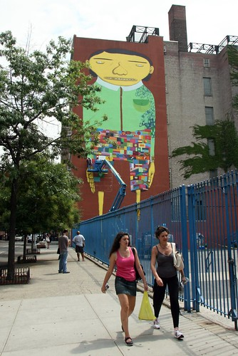 Os Gemeos and Futura in progress