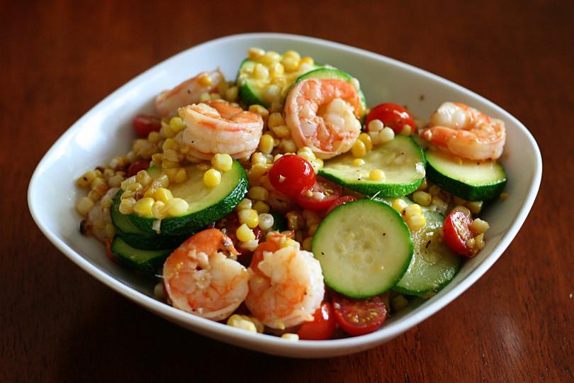 Shrimp & Veggie Stirfry