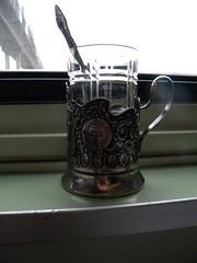 Train Moscow-Amsterdam (Timon91) Tags: glass train tea railway belarus baranovichi trainamsterdammoscow