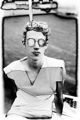 (Samantha West) Tags: portrait man brooklyn sunday samanthawest lylelodwick wearingtwopairsofsunglassessittingontherooftopwatchingmeshoot