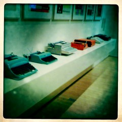 Typewriters at sfmoma