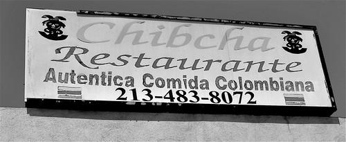 Chibcha Signage