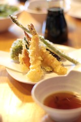 Kobachi - shrimp and veg tempura