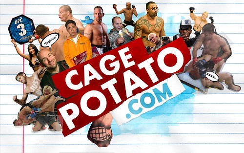 CagePotato desktop wallpaper MMA Dana White War Machine Jon Jones Fedor