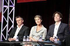 Matt LeBlanc, Tamsin Greig, and Stephen Mangan from Showtime's 'Episodes' (djtomdog) Tags: television tv thomas hilton lewis hills beverly showtime tca junkie association attila critics mattleblanc episodes tamsingreig stephenmangan thetvjunkie
