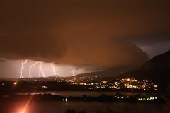 Furia d'agosto (diemmarig) Tags: fulmini furia suello annone notte lightningstrikes