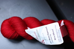 wollmeise super red