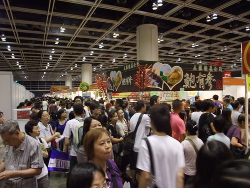 Food expo 2010 in Hong Kong