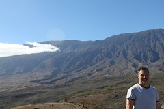 Mark at Haleakala