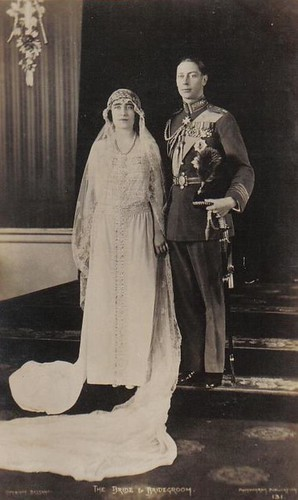 Wedding of Albert Duke of York with Lady Elizabeth Bowes-Lyon
