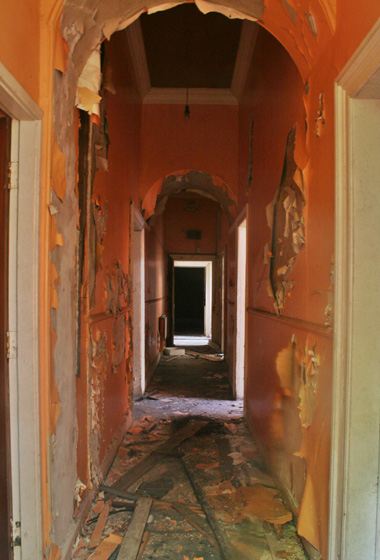 Ground floor corridor