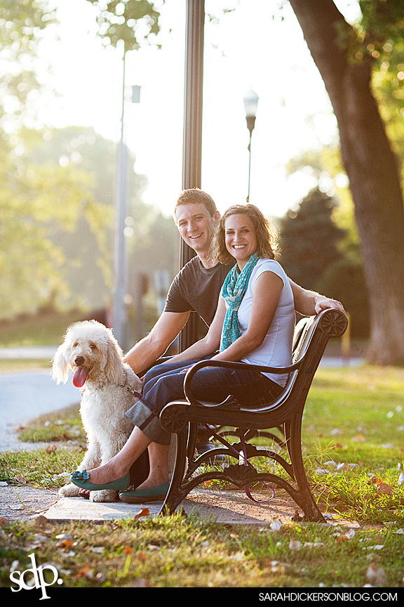 Parkville Missouri engagement photographers
