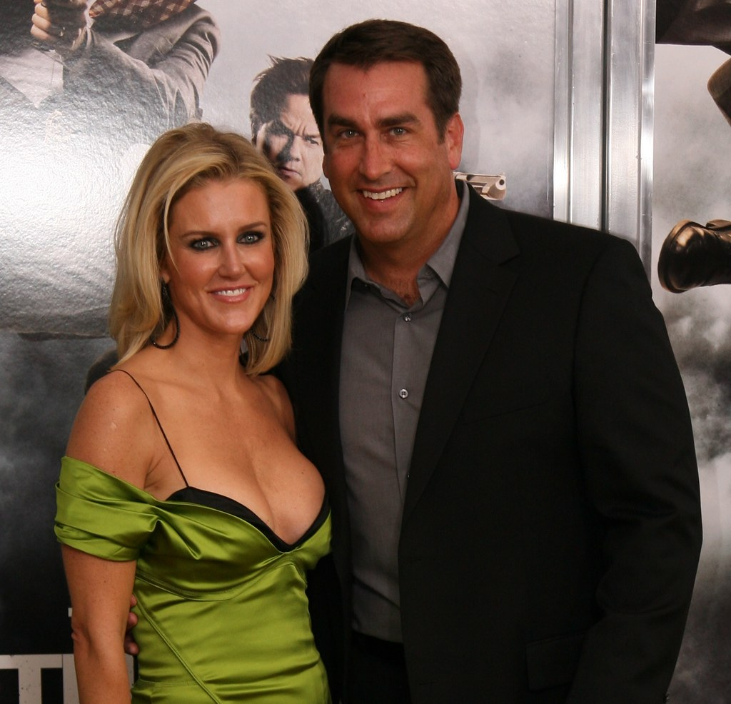 Rob Riggle and wife Tiffany Riggle, The Other Guys Movie Premiere, Ziegfeld Theatre, Manhattan, NY