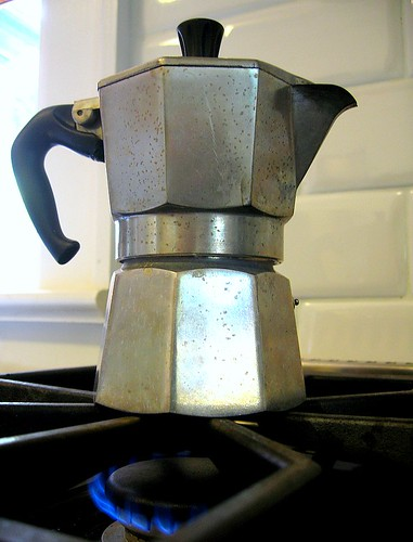 stovetop espresso or moka pot