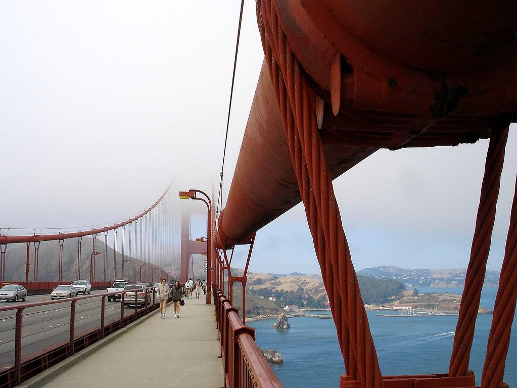 Five years ago: Golden Gate Bridge