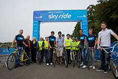 Mayor of London's Sky Ride Redbridge - 2010 (goskyride.com) Tags: sky bike bicycle start cycling bmx cyclist ride mayor group cycle londons skyride 2010 redbridge michaelbarry thomaslvkvist chrisfroome kulveerranger liamphillips larspetternordhaug skyrideredbridge