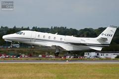 G-LEAX - 560-5712 - Private - Cessna 560XLS Citation Excel - Luton - 100811 - Steven Gray - IMG_1378