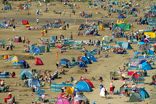 British Summer Beach Holiday