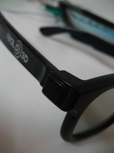 Real 3D Glasses for 3D Movies