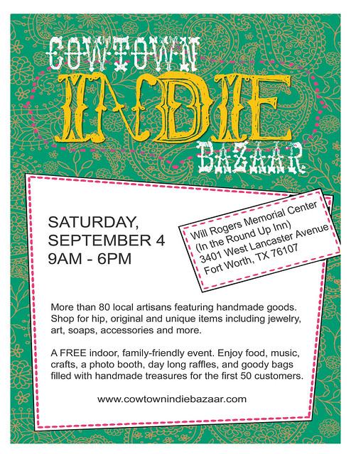 Cowtown Indie Bazaar