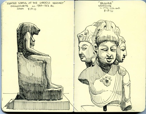san antonio museum of art sketches