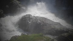 POWERFUL CONTEXT (uncleboatshoes) Tags: waterfall video rocks whitewater sage whiteriver highdesert liquid jibkidder whiteriverfalls