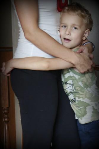 Waist hug!