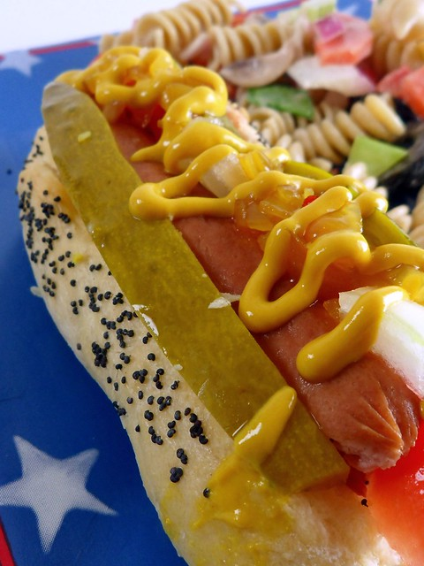 Kacey's Kitchen - Southern Style Chicago Hotdog 2