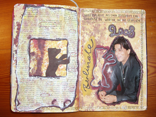 Wreck This Journal: Glue In A Page From A Magazine. Circle The Words You Like.
