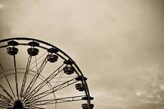 Aged Ferris Wheel