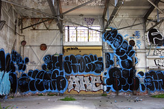 Adek, MQ (funkandjazz) Tags: sanfrancisco california graffiti mq vf adek tko ake