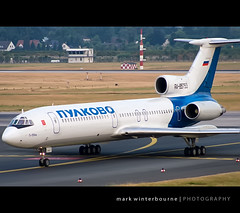 RA85753 (Mark Winterbourne   markwinterbourne.com) Tags: airport mark aircraft aviation dusseldorf tupolev dus rossiya tu154m eddl winterbourne ra85753 154ef9 92a935