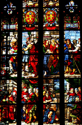 Brilliant stained-glass windows