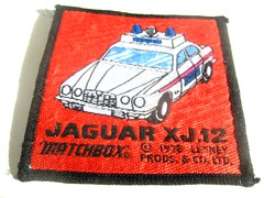 Matchbox Police Jaguar XJ12 Sew-On Patch - 1 of 2 (Kelvin64) Tags: cars car toy toys model crafts models police craft hobby 70s jaguar hobbies collectables patch 1970s collectors patches matchbox collecting collector collectable pastime diecast xj12 lesney pastimes sewon