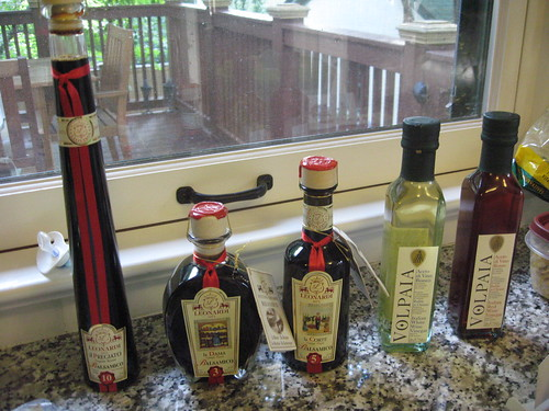 Introduction to Aged Balsamic and Red and White Wine Vinegar: Acetaia Leonardi and Castello di Volpaia