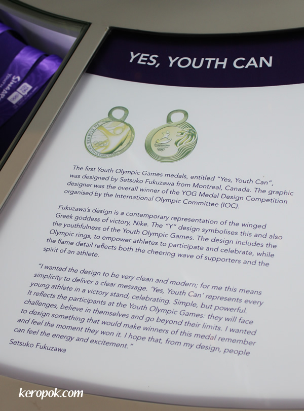 YOG Medal - Yes, Youth Can