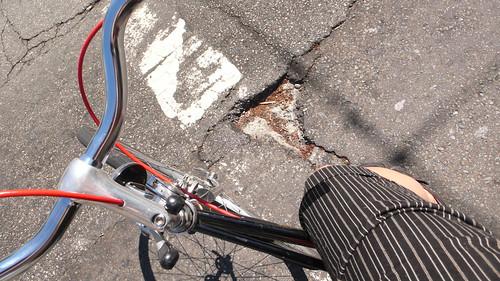 Pothole pain