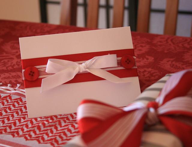 White Ribbon Card