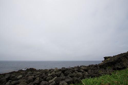 沓形岬公園から
