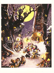 Disney Christmas Postcard (crayolamom) Tags: christmas vintage postcard disney reprint