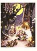 Disney Christmas Postcard (crayolamom) Tags: christmas vintage postcard disney reprint