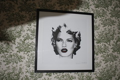 Banksy - Kate Moss AP (Prescription Art) Tags: place bast banksy rathbone botulism lazarides